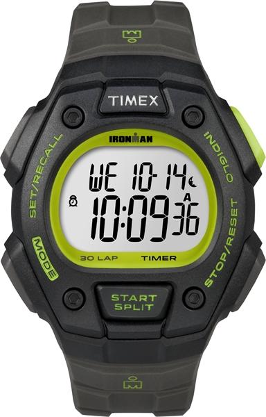 Timex Ironman Core 30 lap Full black lime (T5K824)  00461724