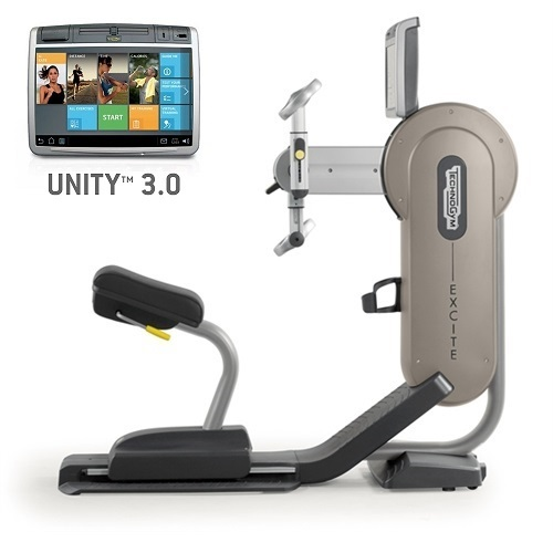 TechnoGym Armfiets Excite+ Top 700 Unity 3.0 zilver gebruikt  BBTGET700U3ZI