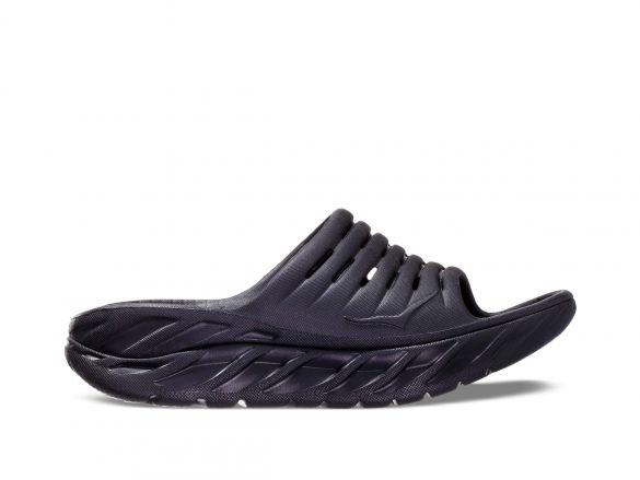 Hoka One One ORA Recovery Slide slippers zwart dames  1099674-BBLC