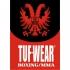Tufwear MMA short rood  T269