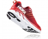 Hoka One One Clifton 6 hardloopschoenen rood/wit heren  1102872-PRRR