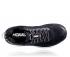 Hoka One One Clifton 6 hardloopschoenen zwart/wit dames  1102873-BWHT