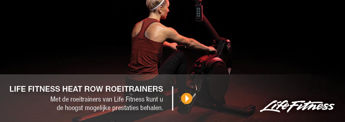 Life Fitness Heat Row roeitrainers